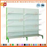 Metal Powder Coating Gondola Round Supermarket Shelf Shelves (Zhs149)