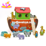 New Hottest Kids Wooden Noah's Ark Toy Set for Fun W12D084