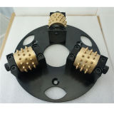 HTC Grinder/Diamond Bush Hammered Plate with 3 Rollers