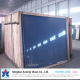 Dark Blue Reflective Glass Float Glass Building Glass