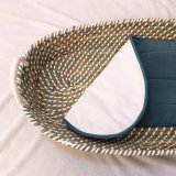Eco Friendly Handmade Natural Seagrass Change Basket with Mat From China