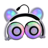 Christmas Gift Cute Glowing Headphone for Kids and Girls