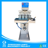 Four Color Shuttle Pad Printer with Independent Pad