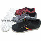 New Design Women Casual Canvas Shoes Injection Shoes Footwear (FHY913-7)