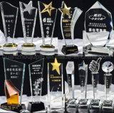 OEM High Quality Various Logo Crystal Award Cup Trophy