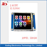 2.8 Inch Resolution 240*320 TFT LCD Display with Capacitive Rtp Touch Panel