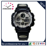 New Fashion Hot Sale Plastic Double Movement Sport Watch