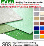 Epoxy Polyester Hydrid Grey/Beige Color Ral7024 Small Texture Powder Coating
