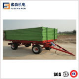 6ton Side Tipping Trailer Mounted on 50-90HP Tractor