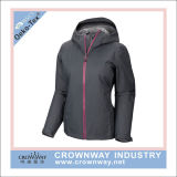 Custom Womens 10000mm Waterproof Rain Jackets with TPU Membrane