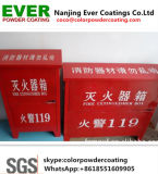 Ral3020 Red Color Polyester Smooth Glossy Shiny for Fire Extinguisher Cabinet