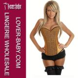 Sexy Lingerie Corset Bustier for Woman (L4032-3)