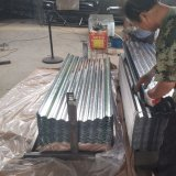 0.15mm Regular Spangle Galvanized Corrugated Roofing Sheet in Coil