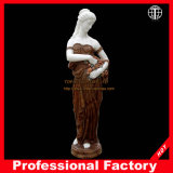 Colorful Garden Figure Marble Statue