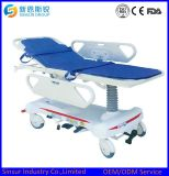 ISO/CE Approved Hospital Equipment Electric Hydraulic Adjustable Transport Stretcher
