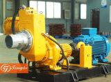 Two/Four Wheels Movable Emergency Flood Control Diesel Engine Self-Priming Water Pump (DN100, DN150, DN200, DN250, DN300)