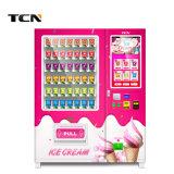 Tcn 24 Hours Convenience Store Elevator Cupcake Ice Cream Vending Machine with Belt Conveyor