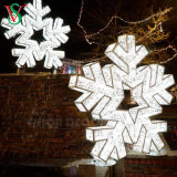 China Manufacturer Outdoor LED Large 3D Christmas Snowflake Lights