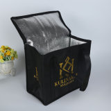 Customized Logo and Packing Non-Woven Insulated Lunch Cooler Bag