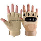 Bike Cycling Gloves Shockproof Gel Pads and Extra Grip Leather Palm Half Finger Glove for Road Bike/Weightlifting/Workout/Motorcycle/Riding Esg10696