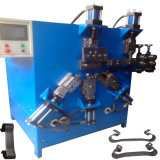 Fully Automatic Parts Flat Strip Wire Bending Clip CNC Buckle Making Machine