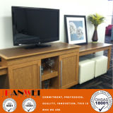 Laminated HPL Finished Ash Wooden Furniture TV Stand