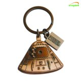 Wholesale Free Design Service, Colorful Electroplating Souvenirs Metal Key Chain for Promotion Gifts