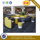 Modern Combination Hotel Reception Living Room Furniture Leather Conference Fabric Sofa