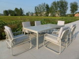 Aluminium Table with Chairs Conversation Set for Outdoor Garden