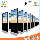 Floor Stand Kiosk 3G 4G Android Network WiFi LCD Ad Display Screen