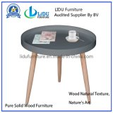 Modern Wooden Cheap Prime Quality Small End Table Modern Round Coffee Table
