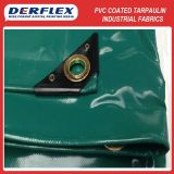 PVC Coated Polyester Fabric Green Truck Tarpaulins