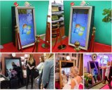 47 Inch Selfie Mirror Photo Booth Software Interactive Touch Screen Kiosk OEM Digital Mirror Me Photobooth Frame