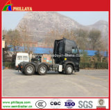 Heavy HOWO A7 Prime Mover Sino Trailer Cargo Trucks