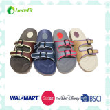 Men′s Slippers with PVC Upper and EVA Sole