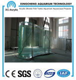 Transparent Large UV Marine Acrylic Fish Tank for Aquarium or Oceanarium