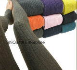 Women Beautiful Casual Knitted Pure Color Warm Pantyhose