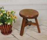 Solid Wooden Round Stool (M-X2115)