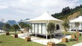 Permanent Accommodation Water Proof Wind Resistance Outdoor Canopy Luxury Hotel Tent
