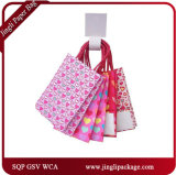 Valentine Wedding Mini Glitter Gift Shopping Bags Carrier Paper Bags