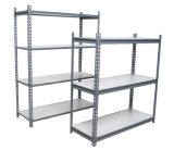 Light Duty Industrial Warehouse Steel Plate Metal Storage Rack
