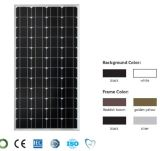 120W Mono Solar Panel with TUV Ce Certificate