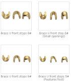 Brass U Top Stopper Zipper Garment Accessories