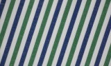 Green/Navy Stripes Comfortable Yarn Dyed Shirt Fabric