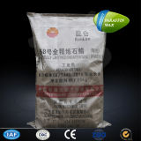Kunlun Industrial Using Granular Fully Refined 58/60 Paraffin Wax 25kg Woven Bag