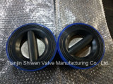 Ci Rubber Lining Dual Plate Check Valve
