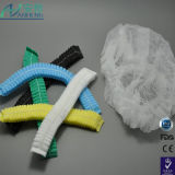 Blue Disposable Dust Cap Made of Non Woven Fabric /Hair Nets Free Shipping
