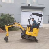 Hot-Sell Mini Excavator Hydraulic Crawler 1.0ton Small Excavator