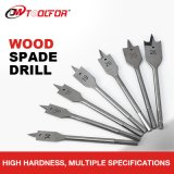 Wood Flat Spade Drill Bit with Tri-Point and Cutting Groove