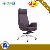 Half Price Separate Swing Door Model Government Elegant PU Furniture Chair (HX-SN8032)